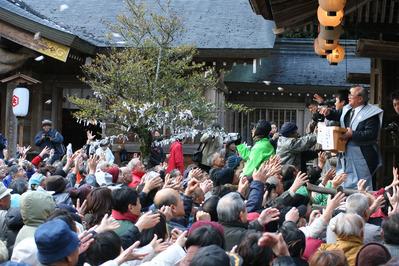 レイクラインで行く熊野大社「節分祭 豆撒き神事」