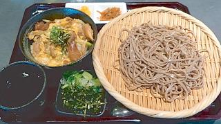 s-阿礼:蕎麦と親子丼定食