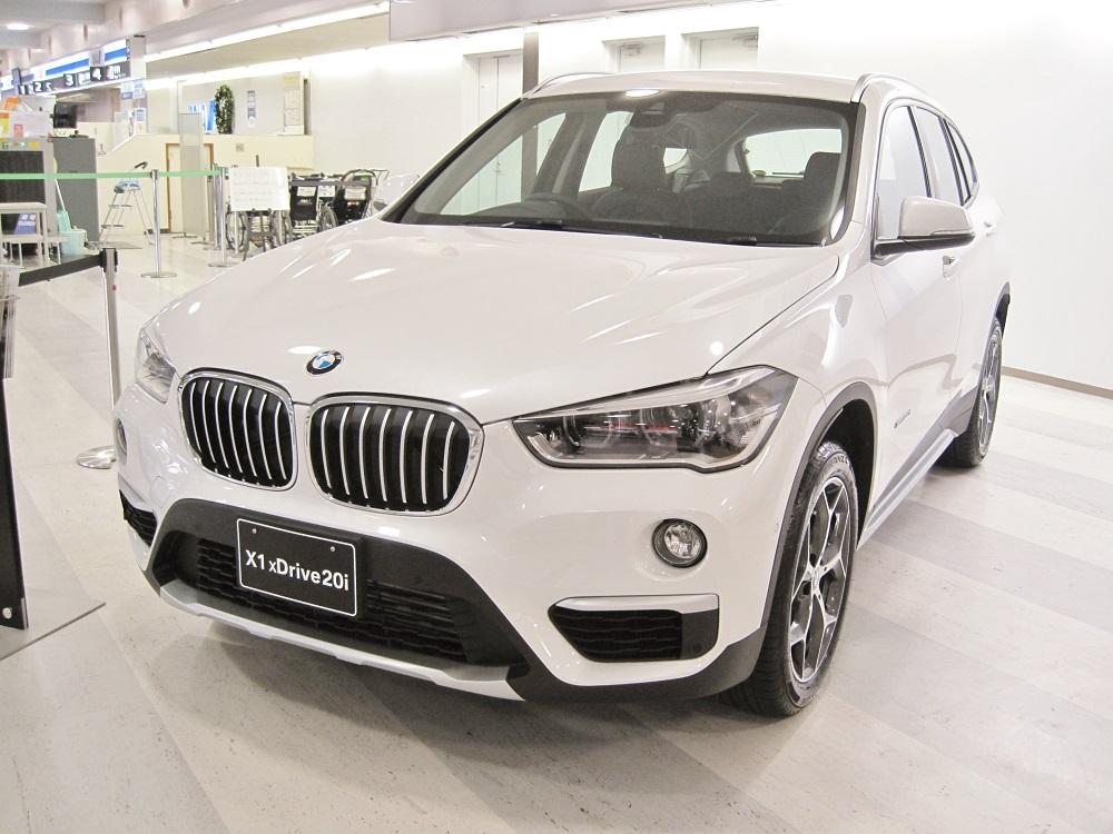 BMW車が展示されました!