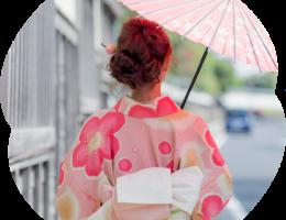 レンタル着物で城下町松江をぶらり♪歩き