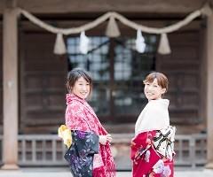 松江✿堀川小町2017 NEW YEAR ~初詣~着物レンタル