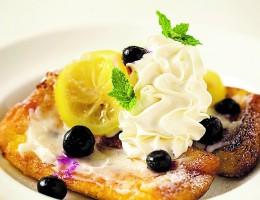 〔今月のイチオシ〕レモンとヨーグルトのフレンチトースト 800円