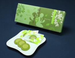 〔今月のイチオシ〕縁結いショコラクッキー抹茶  648円