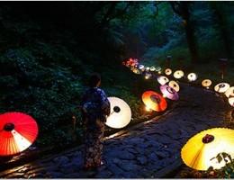 大山夏祭り・・・お盆の大献灯