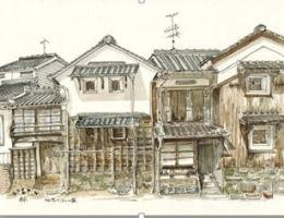 米子空港チャレンジショップ Vol.11 『蔵りすと森井裕子』 線細ペン画展・・・(このイベントは終了しました)