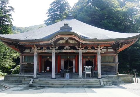 大山寺本堂 画像