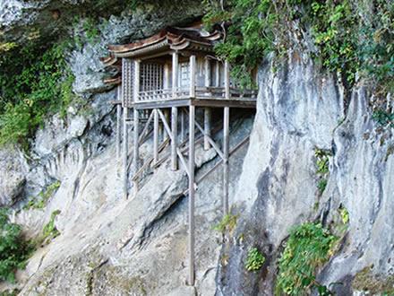 三徳山投入堂 画像