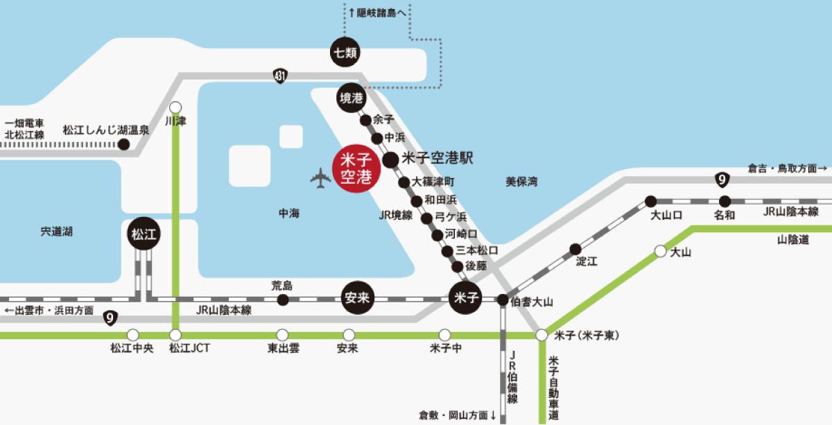 電車(JR)案内図