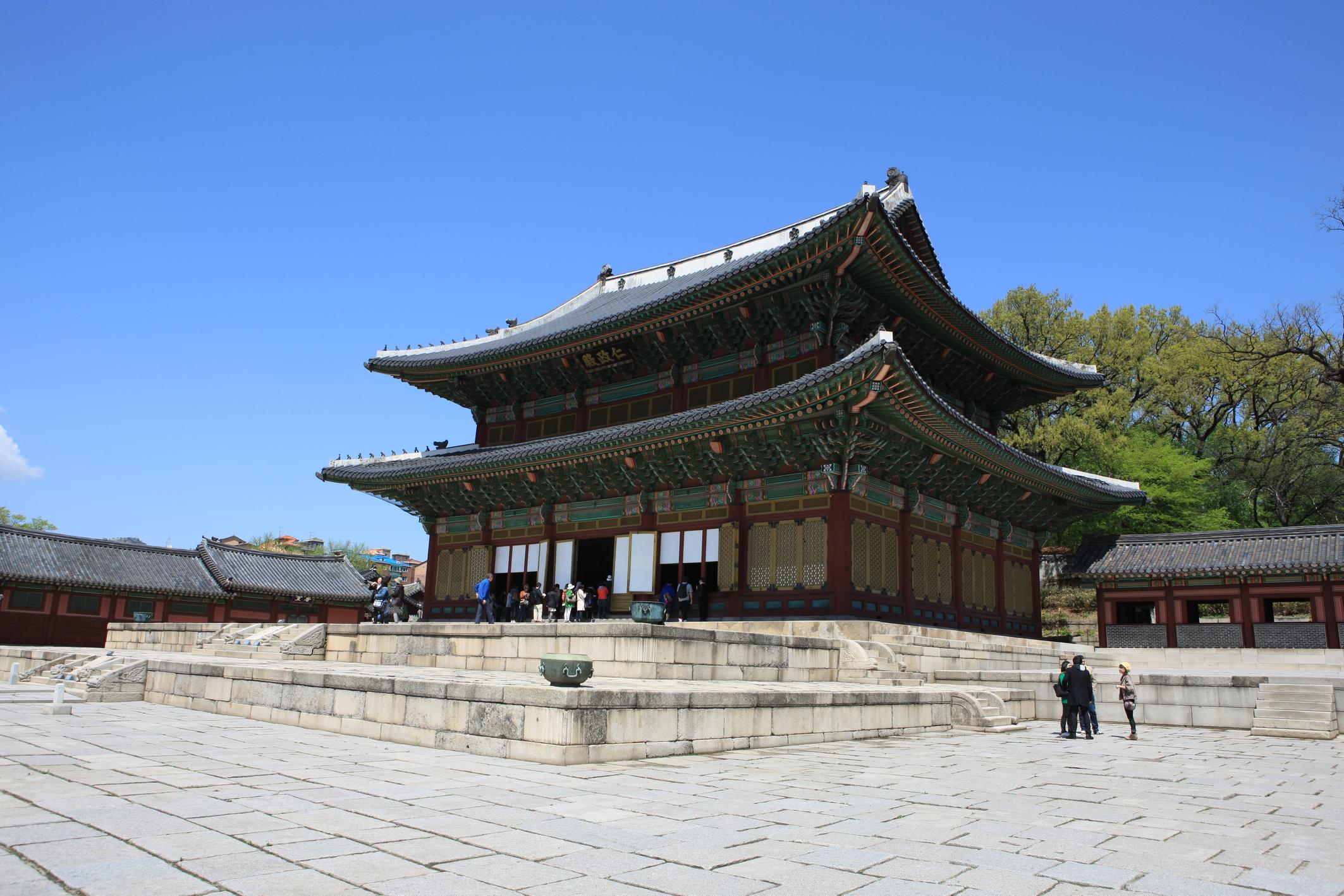 昌徳宮 画像